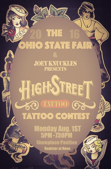 2016 Ohio's Best Tattoo Competition at the Ohio State Fair